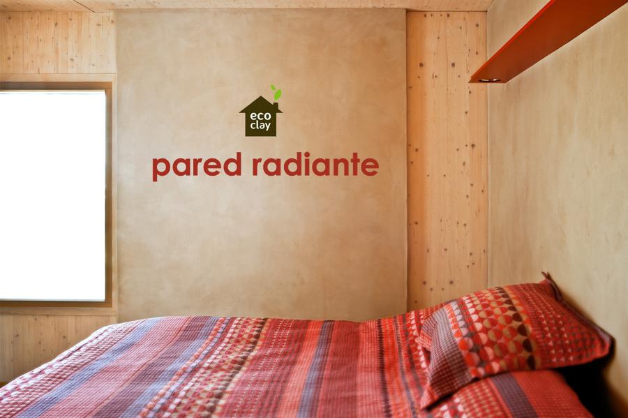 ecoclay radiador de arcilla - pared radiante natural