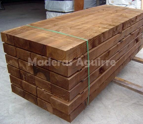 Foto ecotraviesas de pino de maderas aguirre 156613 habitissimo - Maderas aguirre ...
