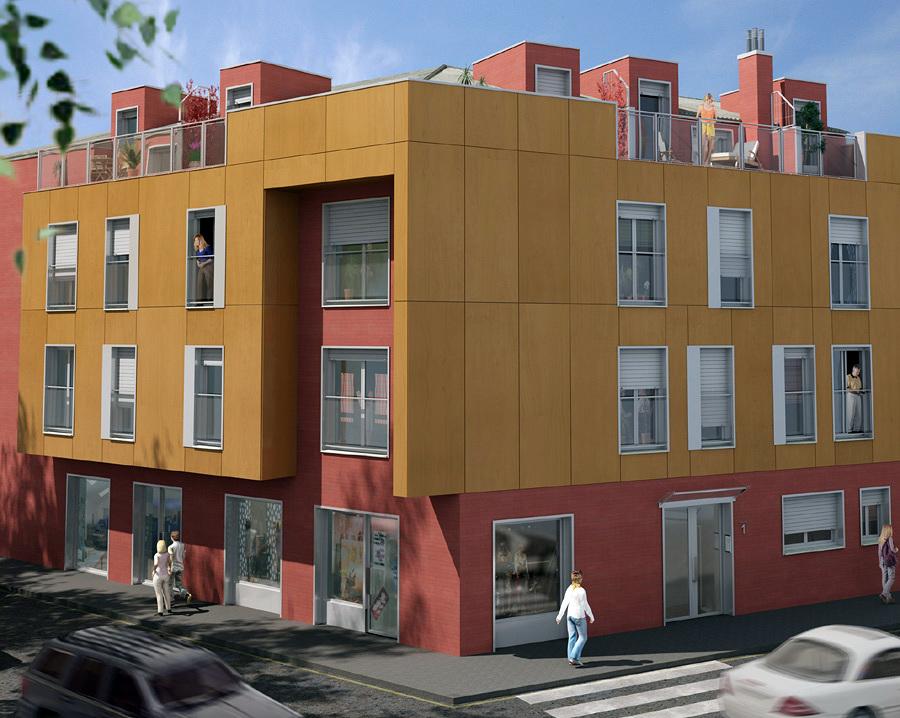 Edificio 8 viviendas en Azuqueca de Henares
