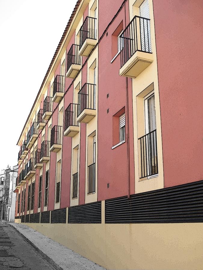 Foto edificio plurifamiliar 12 viviendas en el morell - Sans arquitectes ...