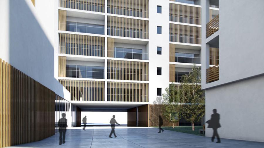 Foto edificio residencial de fem arquitectura 678766 - Fem arquitectura ...