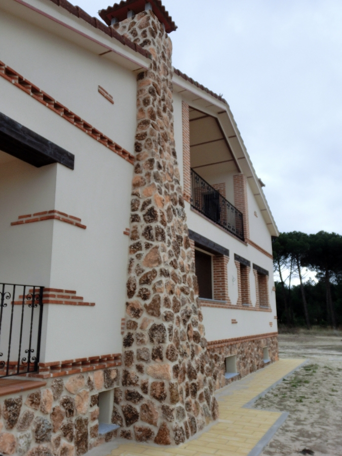 Foto proyecto y ejecuci n chalet unifamiliar en arevalo for Proyecto chalet moderno