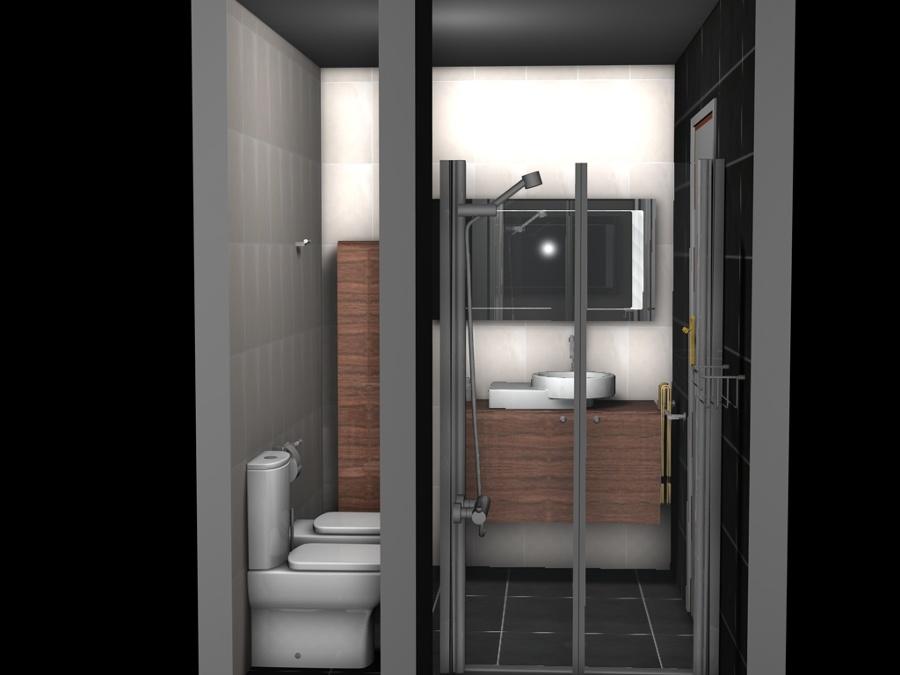Ejemplo Diseño de Baño /  Exemple Disseny de Bany