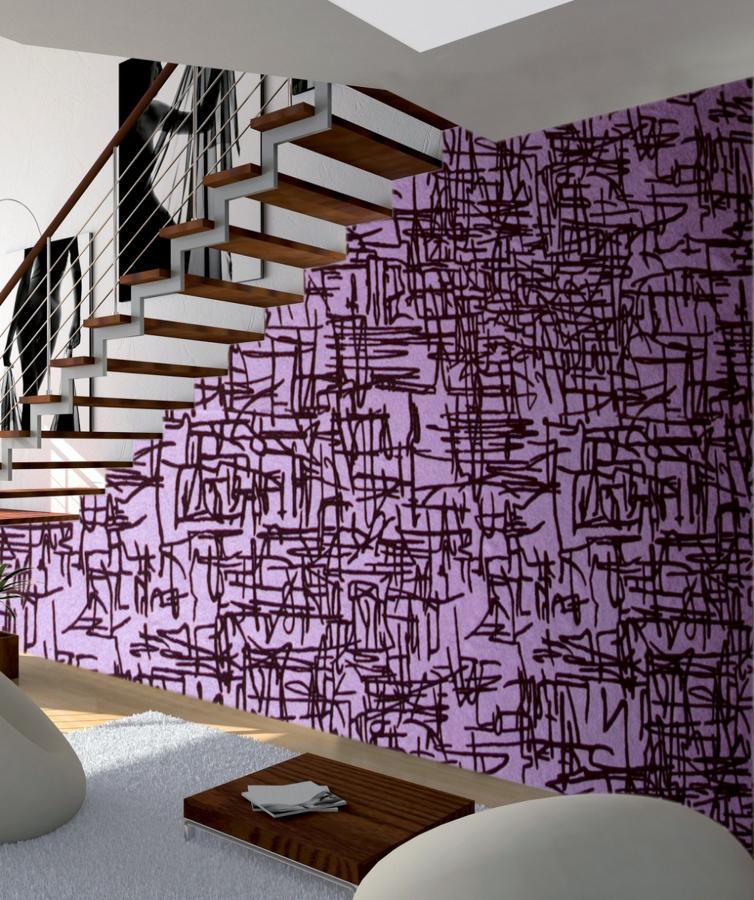 Foto eliminaci n de gotel e instalaci n de papel pintado - Papel pintado en gotele ...
