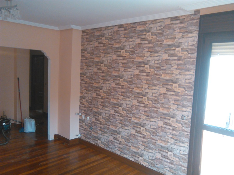 Foto empapelado de pared del sal n de landeko 693371 for Precio de papel para empapelar paredes