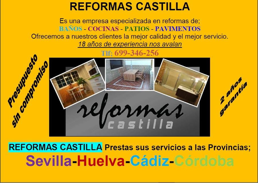 Empresa especializada en Reformas