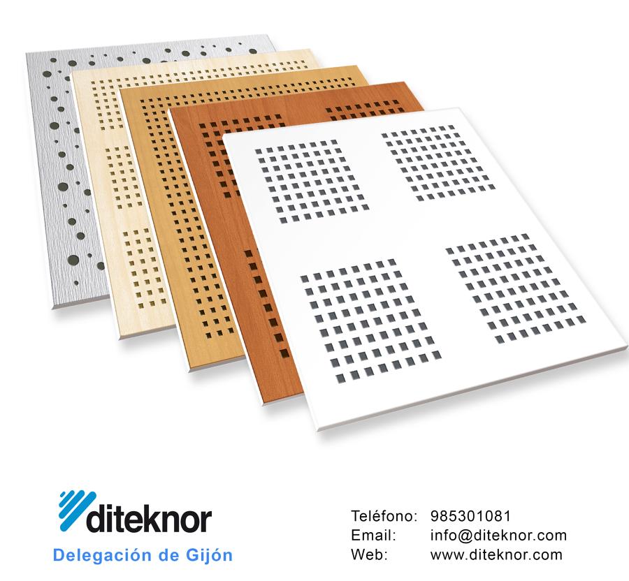 En los almacenes diteknor encontrarás falsos techos desmontables y continuos de todos los materiales.