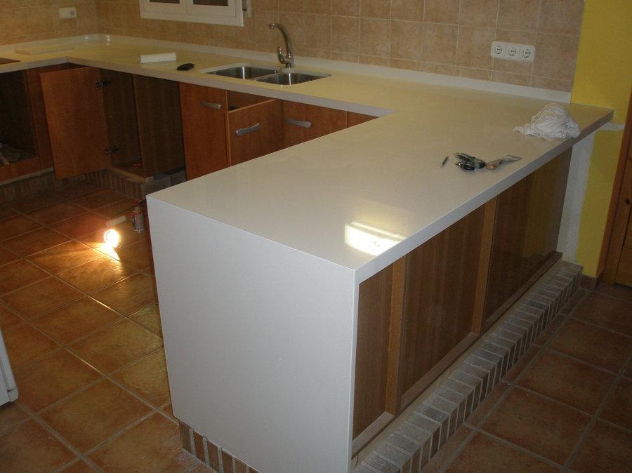 Encimera cocina, cuarzo Arcadía, 2 cm
