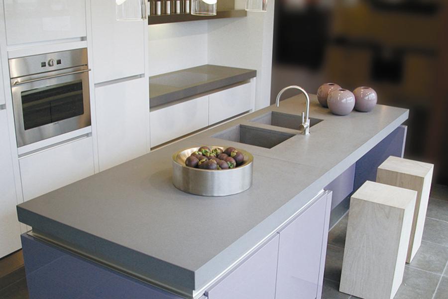 Foto encimera de cuarzo gris de encimeras madrid 705272 Encimeras de cocina de piedra baratas