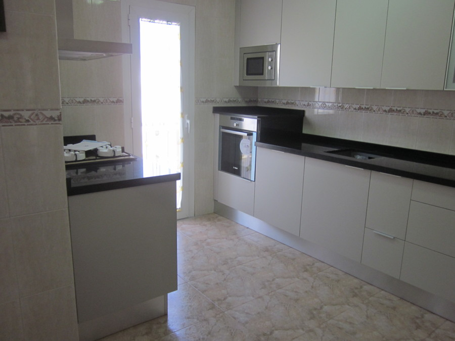 Encimera granito negro cheap cocina en granito negro - Encimera granito negro ...