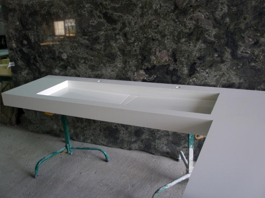 Encimera Silestone blanco Zeus, 2 cm