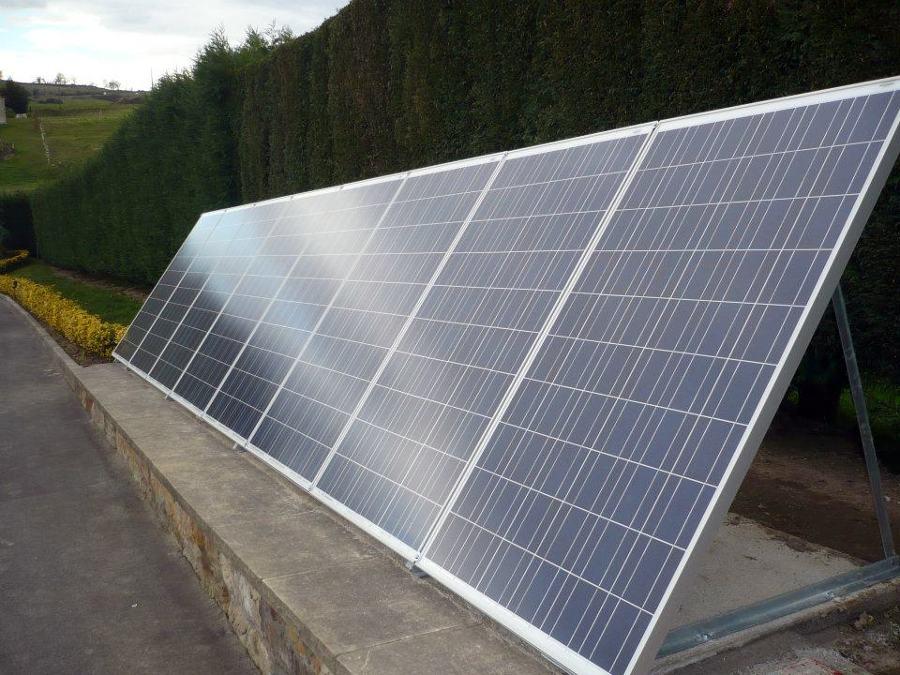 Foto energ a solar fotovoltaica de sinergy efficient - Energia solar tenerife ...