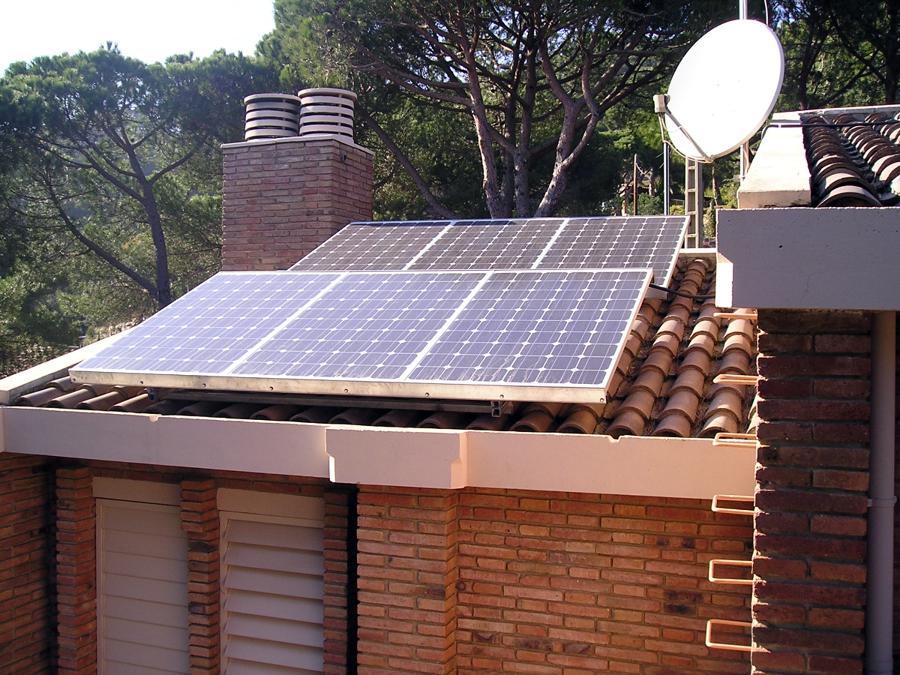 Foto energia solar fotovoltaica de lampisteria arenys scp - Energia solar tenerife ...