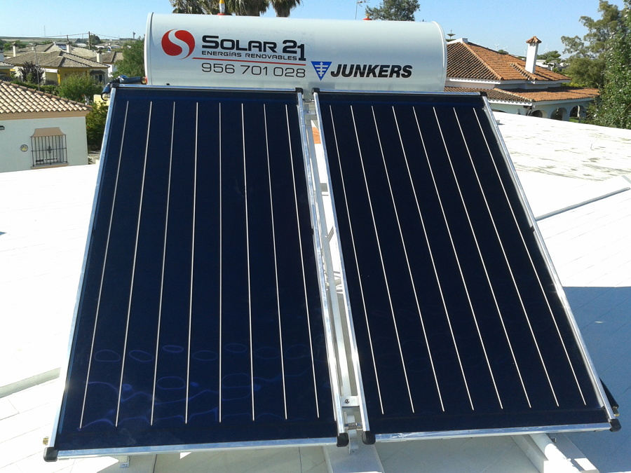 Foto energia solar termica agua caliente de solar 21 - Energia solar tenerife ...