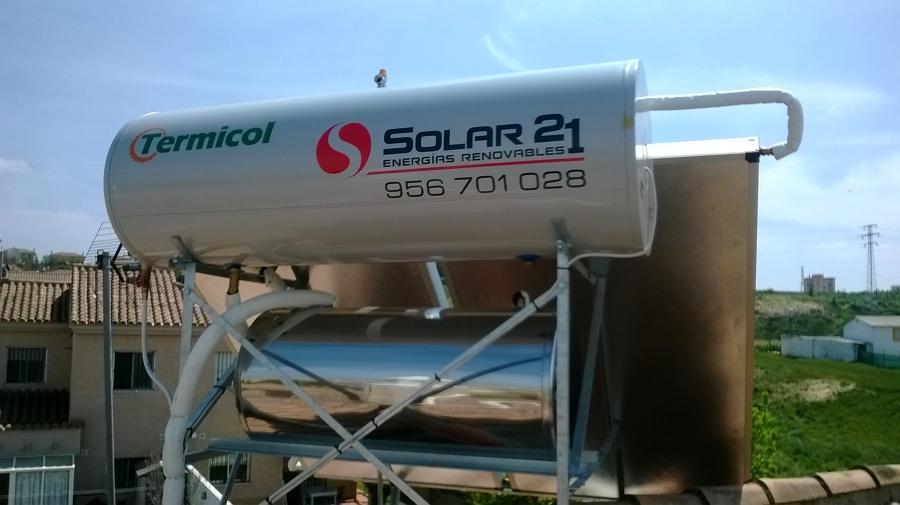 Foto energia solar termica agua caliente de solar 21 - Agua caliente solar ...