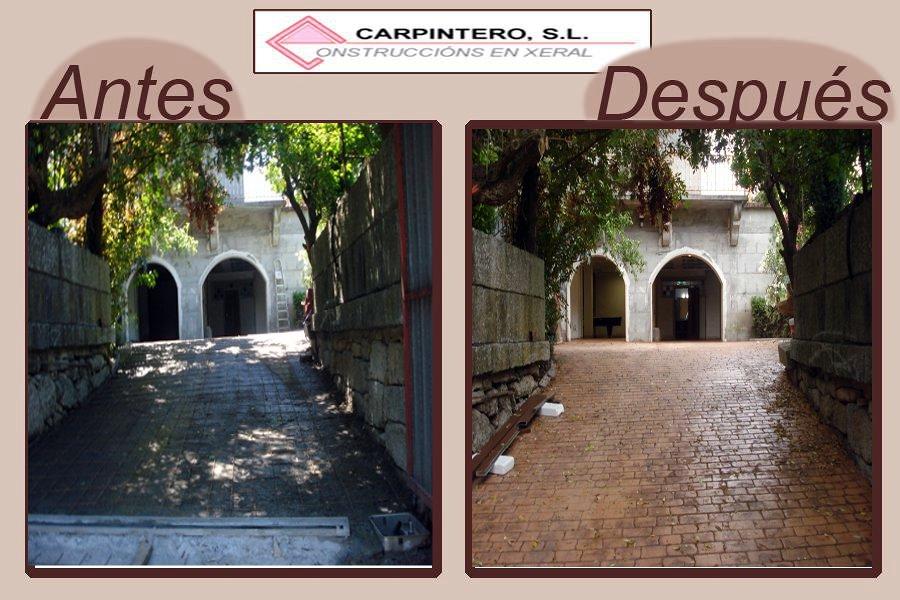 Foto entrada a vivienda en cortegada ourense de construcciones a carpintero s l 182769 - Carpintero tarragona ...