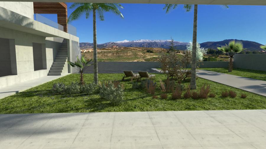 Proyecto vivienda unifamiliar aislada - Granada