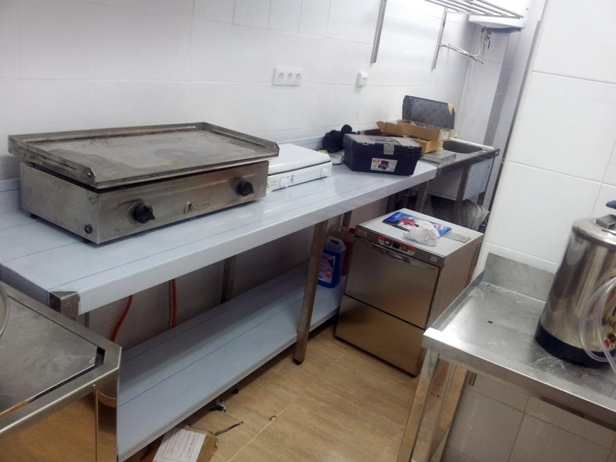 Equipamiento Cocina Industrial en Churrería