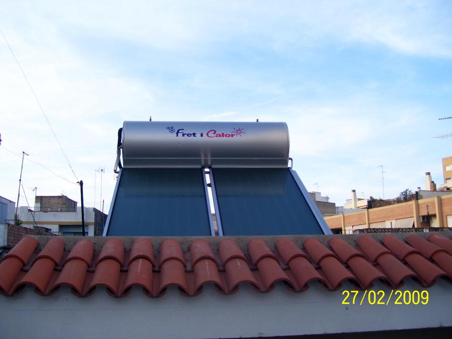 Equipos solares compactos para ACS
