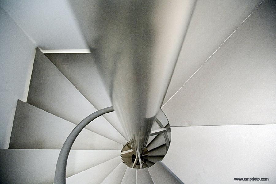 Escalera Caracol Acero