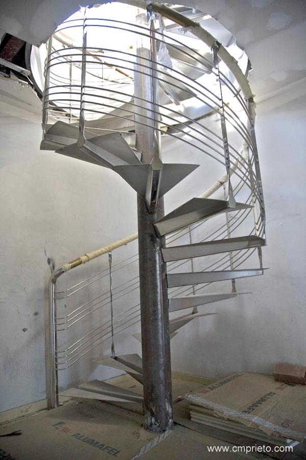 Foto Escalera Caracol En Construcci N De Construcciones