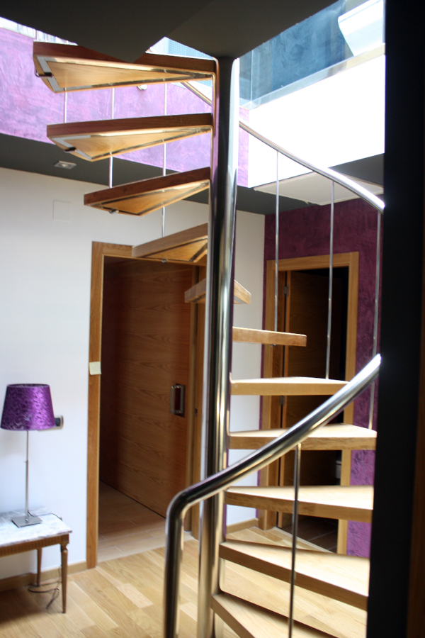 Foto escalera de caracol de met licas fazouro 203480 - Escaleras de caracol metalicas ...