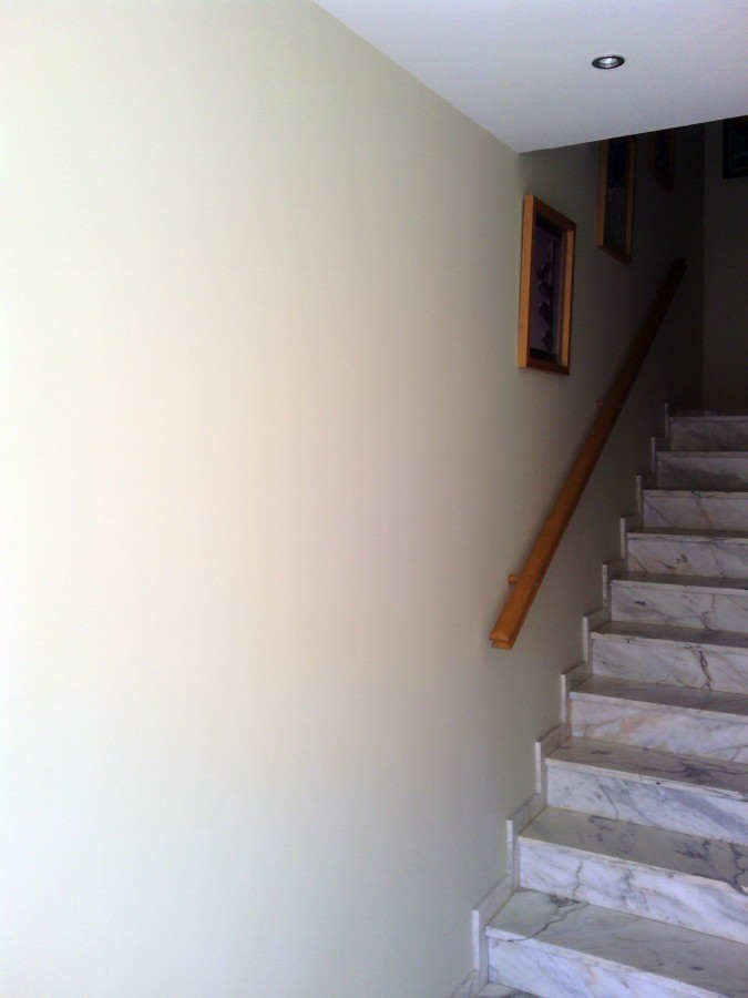 escalera de entrada chalet