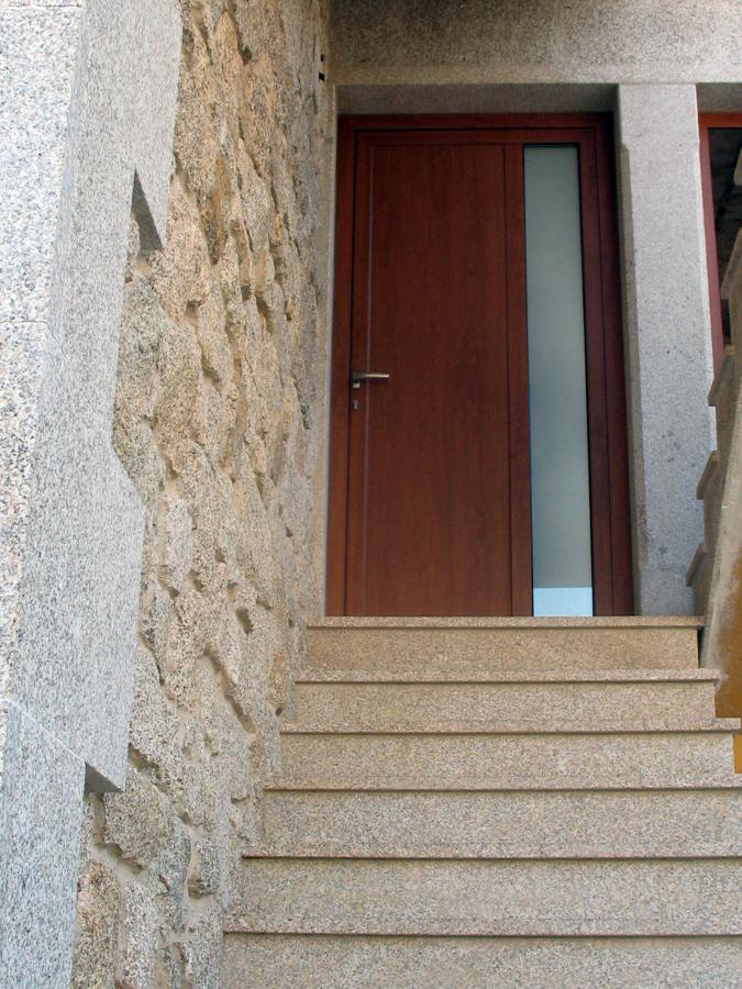 escalera ,fachada