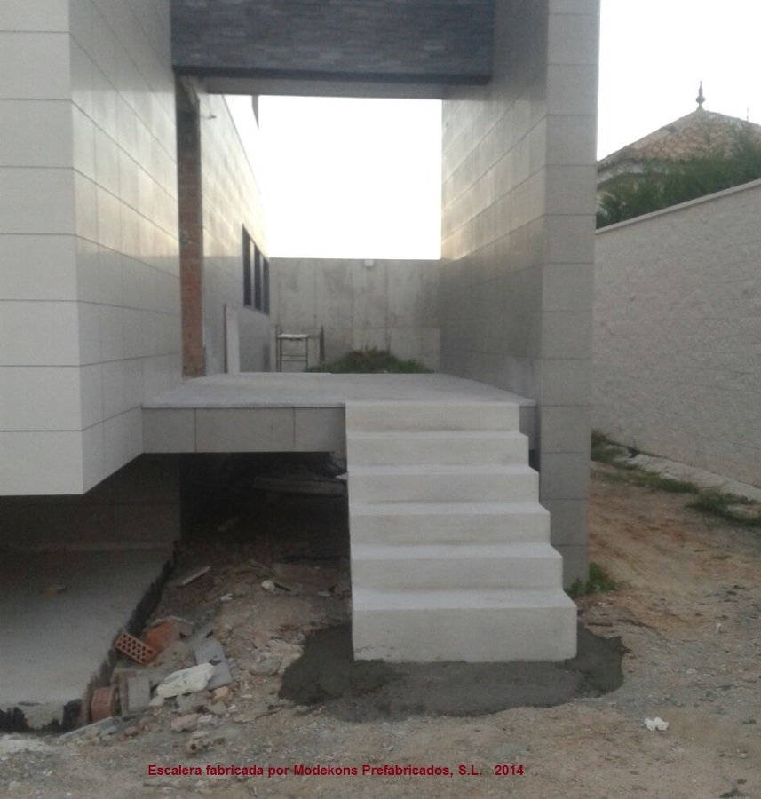 Foto escalera prefabricada de modekons prefabricados s l - Escalera metalica prefabricada ...