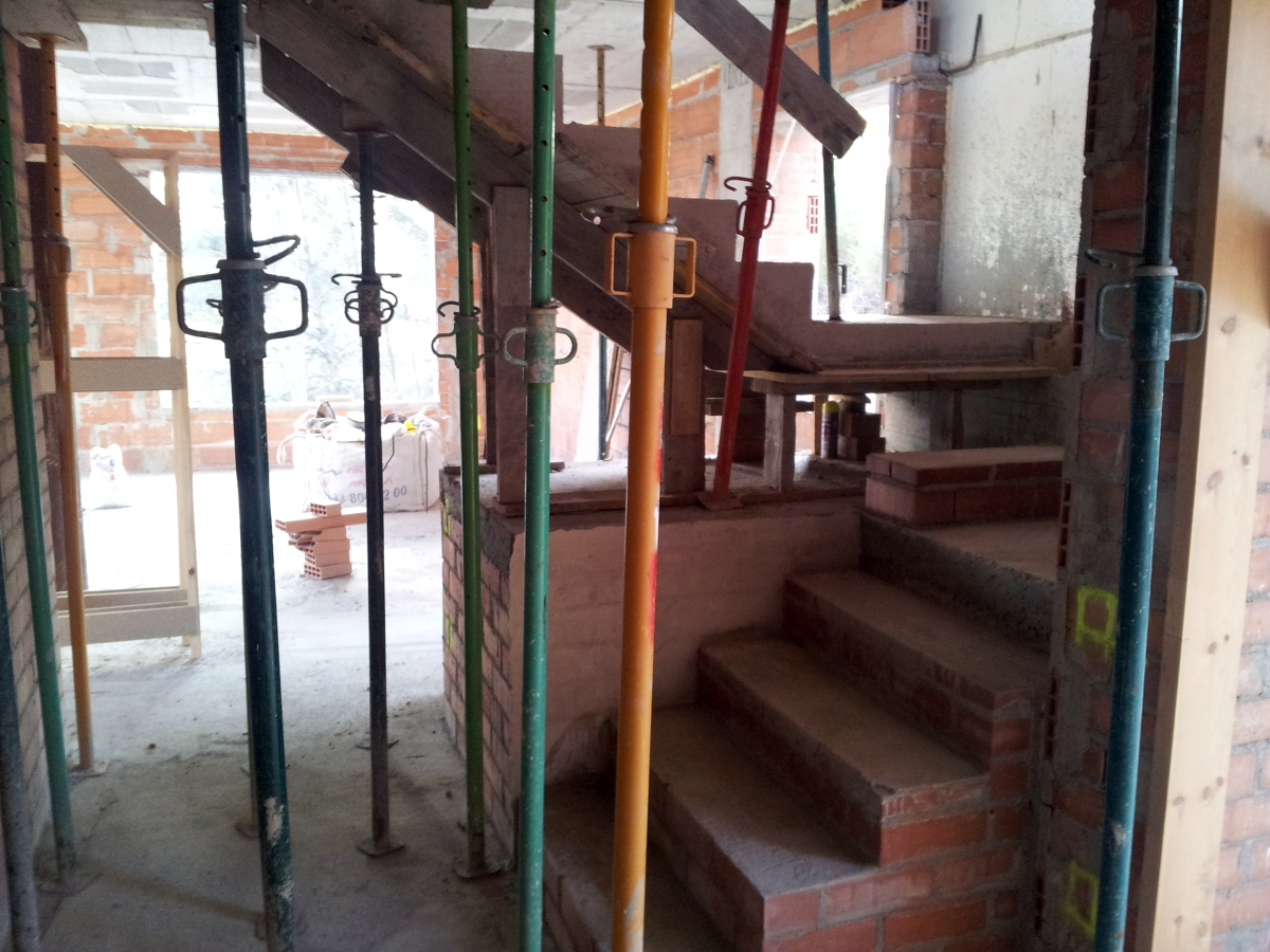 Escalera vista casa unifamiliar 2 (2011)