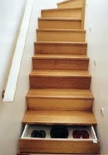 Escaleras con multiuso