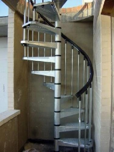 Foto escaleras de caracol de talleres y montajes ceycal - Escaleras de caracol barcelona ...