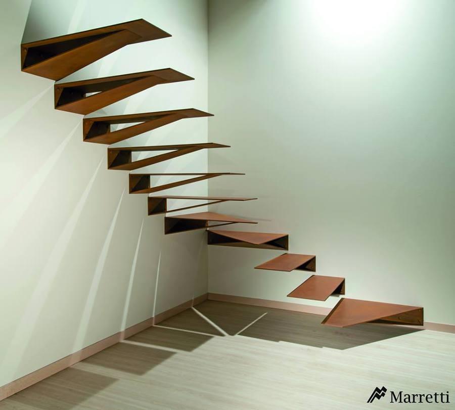 foto escaleras de dise o de timberplan 531452 habitissimo On diseño de escaleras pequeñas