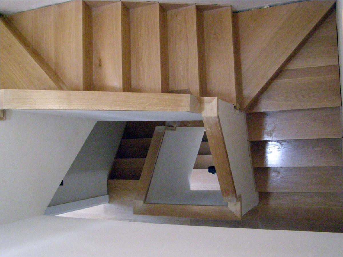 foto escaleras de madera de reforma y construcci n raypi
