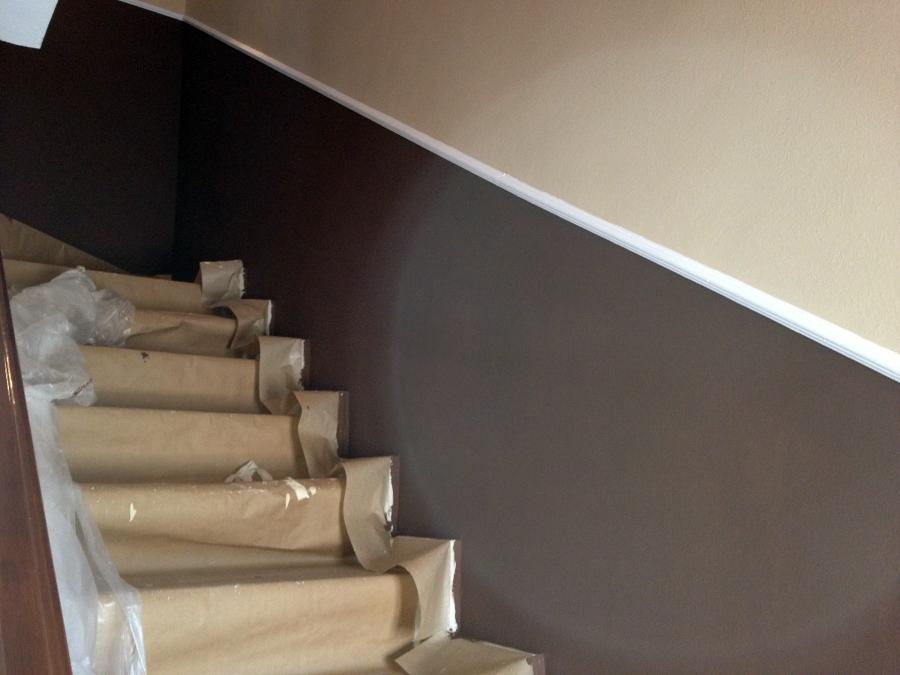 Foto escaleras en dos colores de pinturas jose sanchez s - Pintura para escaleras ...