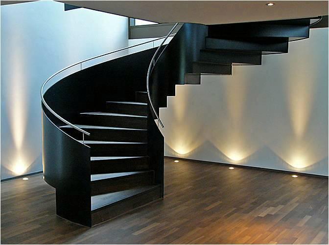Top disenos de escaleras interiores para casas wallpapers - Escaleras modernas interiores ...