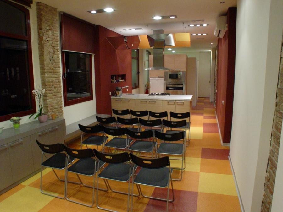 Foto escuela de cocina acabada de eap constructors - Escuela de cocina zaragoza ...