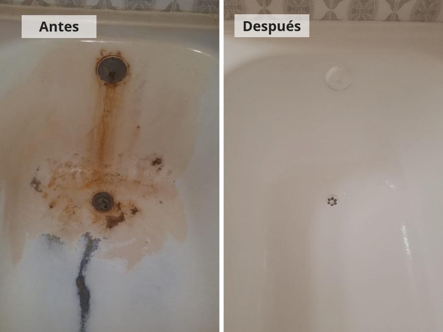 Esmaltado bañera