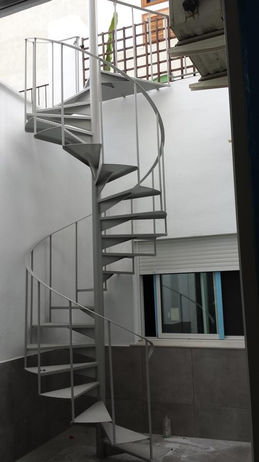 esmaltado de escalera