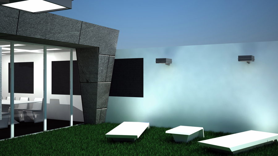 Espacio de ocio en terraza Atico