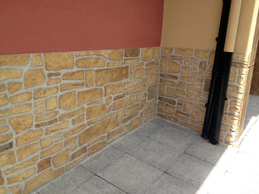 Foto estampado de piedra artificial de rehabilitaci n y reformas anboto 328529 habitissimo - Piedra artificial madrid ...