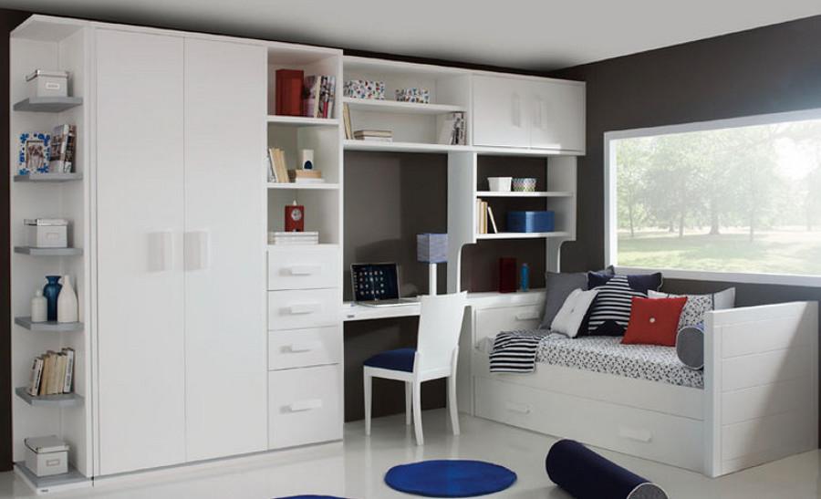 Foto estancia juvenil de trebol mobiliario de decoasencio 727912 habitissimo - Mobiliario juvenil barcelona ...