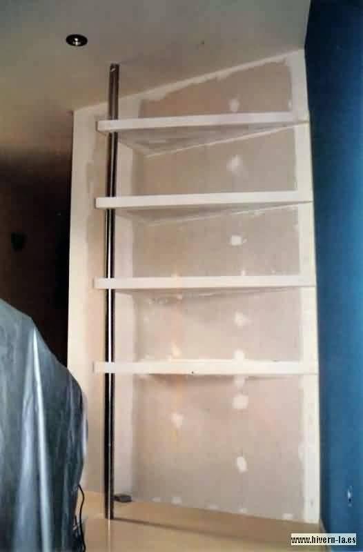 Foto estanteria de pladur de pintoresbcn 233012 - Estanterias pladur fotos ...