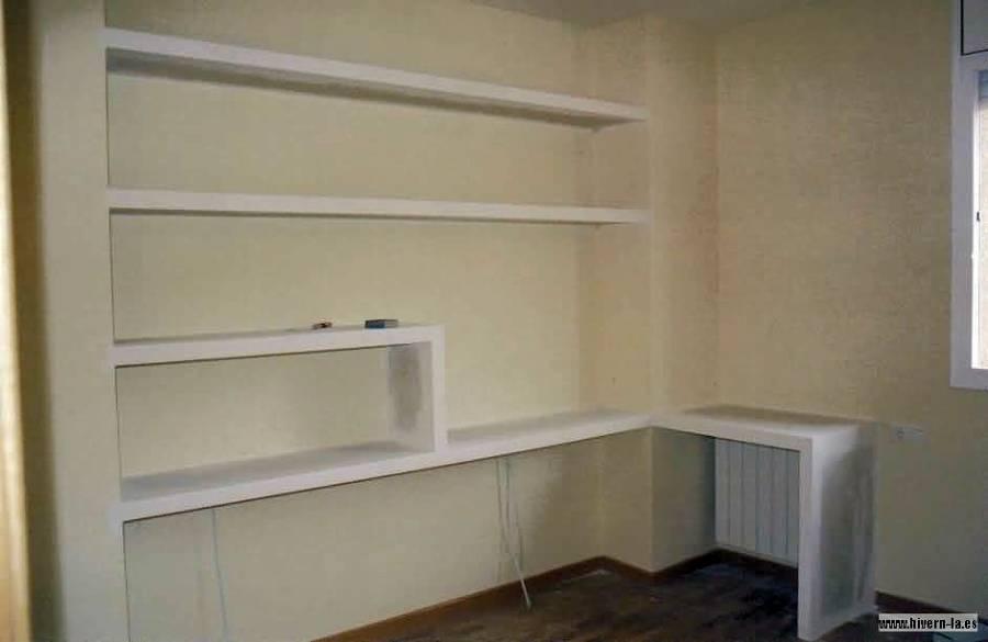 Foto estanteria de pladur de pintoresbcn 233018 - Estanterias pladur fotos ...