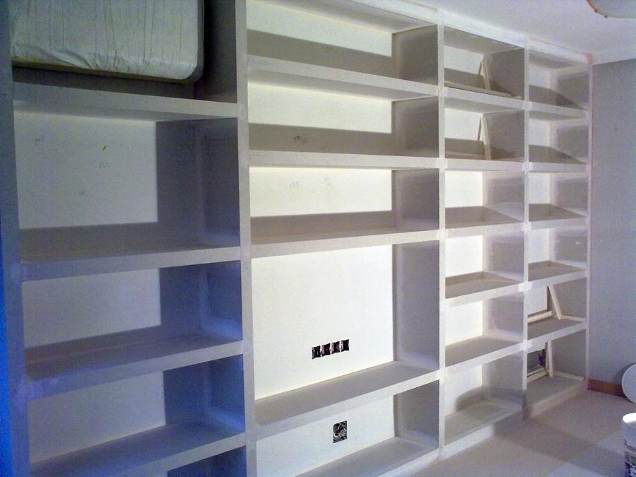Foto estanteria pladur de ioan robert hotea 177483 - Estanterias pladur precio ...