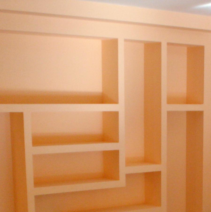 Foto estanter as de pladur de ferlo 680544 habitissimo - Estanterias pladur fotos ...
