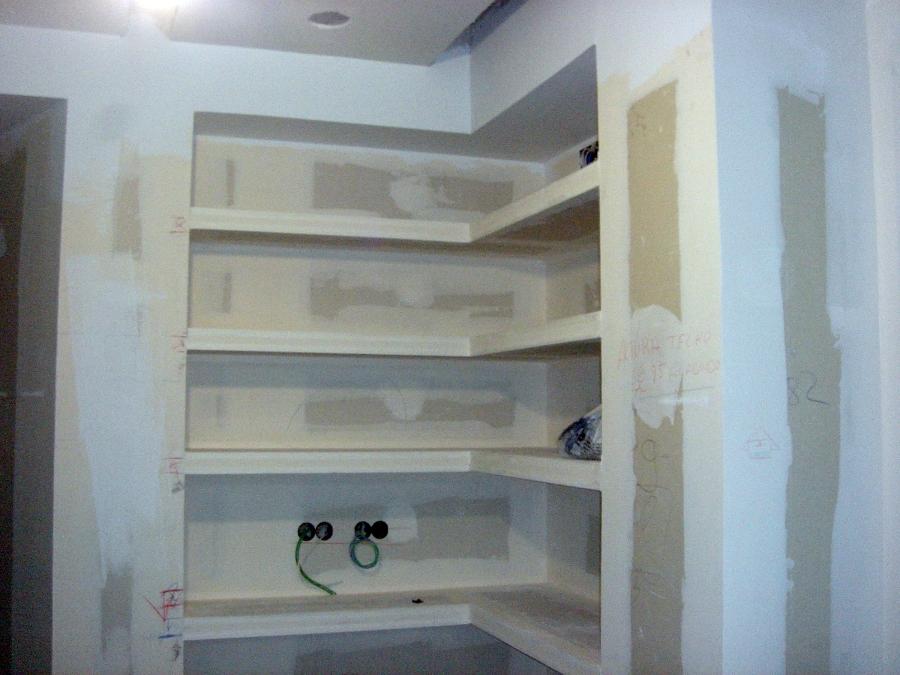 Foto estanterias de carton yeso de aisso ruido 219867 - Estanterias pladur ...