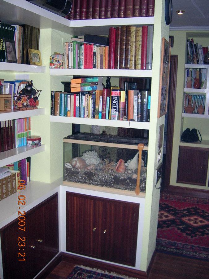 Foto estanterias en pladur de moliner instalaciones - Estanterias pladur fotos ...