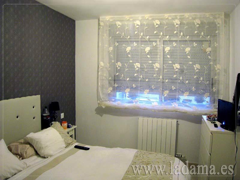 Foto estor de transparencia de la dama decoraci n 173184 - Estores dormitorio ...