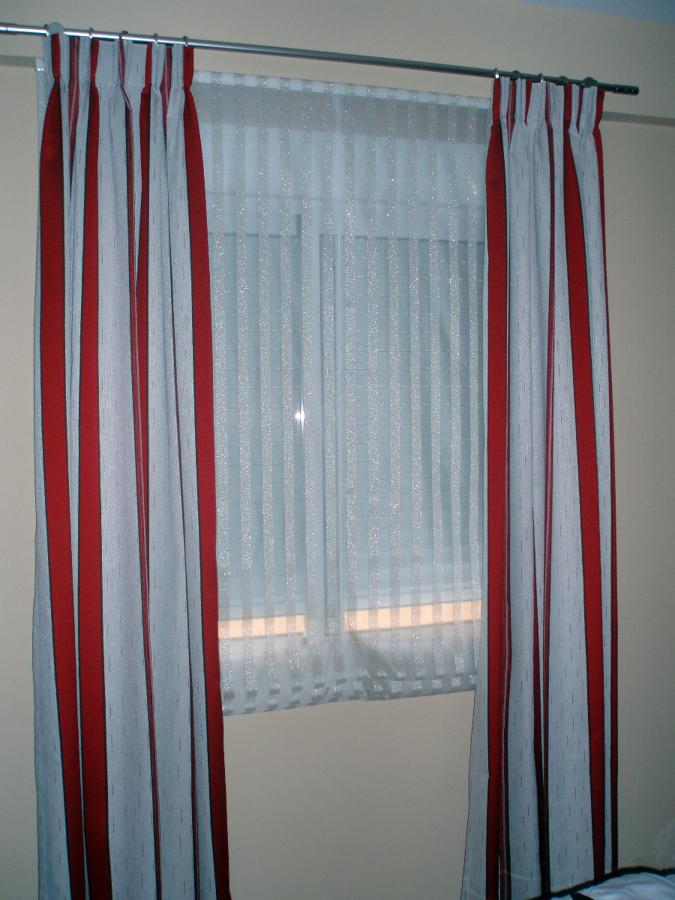 Foto estor veneciano y cortina en caida de www - Estores personalizados con fotos ...